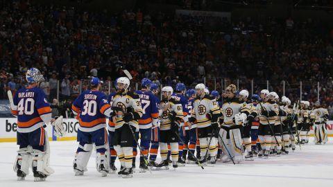 Boston Bruins, New York Islanders