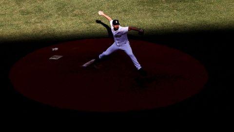 Boston Red Sox reliever Brandon Brannan