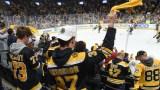 Boston Bruins Fans At TD Garden