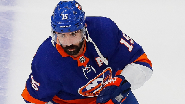 New York Islanders winger Cal Clutterbuck