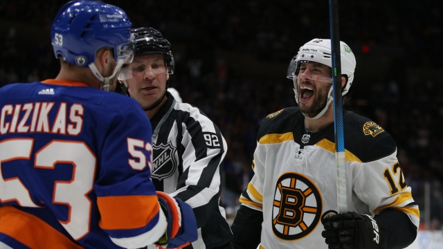 Boston Bruins winger Craig Smith