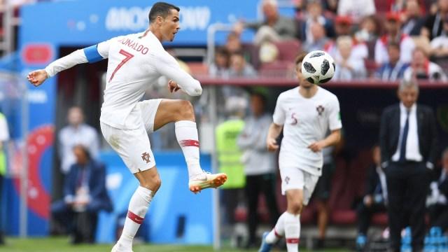 Portugal forward Cristiano Ronaldo
