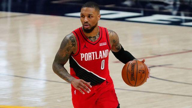 Portland Trail Blazers point guard Damian Lillard