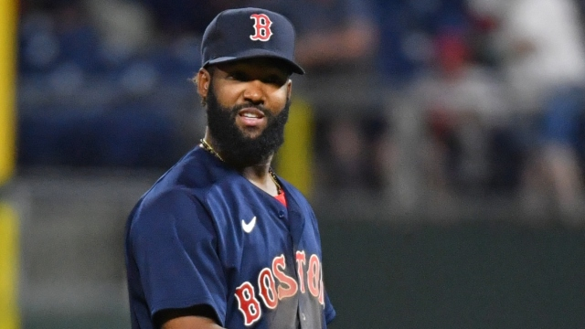 Boston Red Sox outfielder Danny Santana