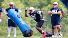 Patriots defensive tackle Davon Godchaux