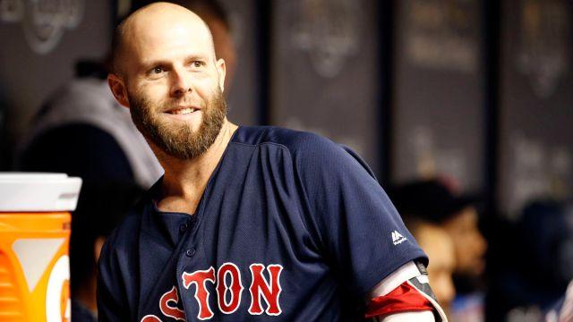 Former Boston Red Sox second baseman Dustin Pedroia