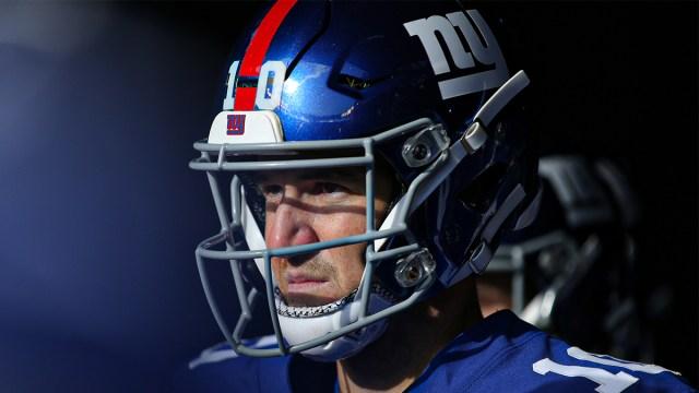 Former New York Giants quarterback Eli Manning