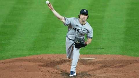 New York Yankees pitcher Gerrit Cole