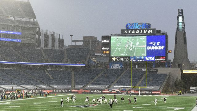 New England Patriots' Gillette Stadium