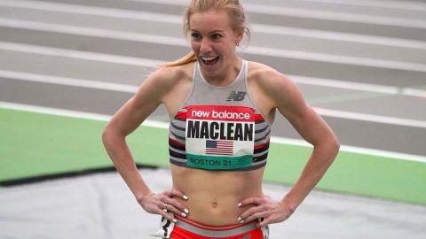 Team USA runner Heather MacLean