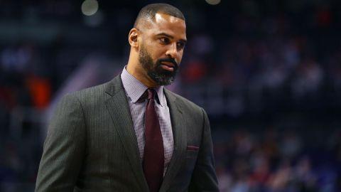 Brooklyn Nets assistant coach Ime Udoka