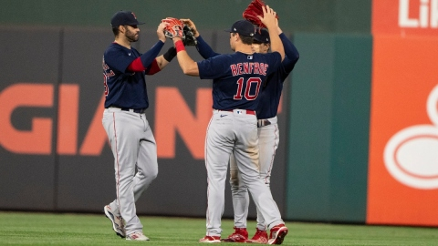 Boston Red Sox outfield