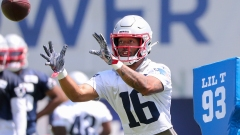 Patriots wide receiver Jakobi Meyers