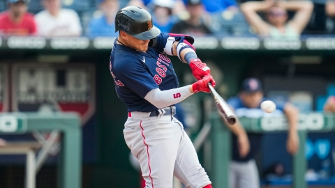 Boston Red Sox second baseman Enrique Hernandez