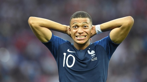 France forward Kylian Mbappe