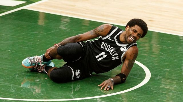 Brooklyn Nets point guard Kyrie Irving