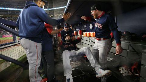 Boston Red Sox outfielder Marwin Gonzalez