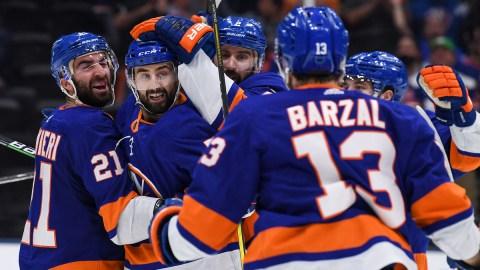 New York Islanders Forward Mathew Barzal