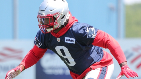 Patriots linebacker Matt Judon