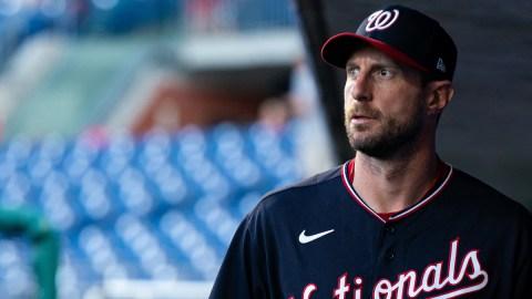 Washington Nationals pitcher Max Scherzer