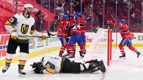 Montreal Canadiens Vs. Vegas Golden Knights