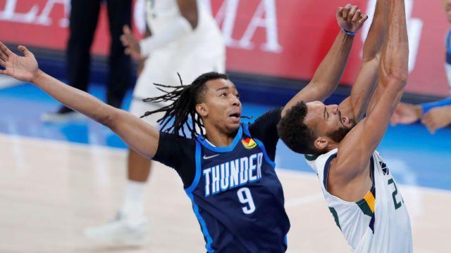 Boston Celtics center Moses Brown