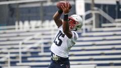 Patriots wide receiver N'Keal Harry