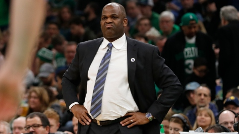 Atlanta Hawks coach Nate McMillan