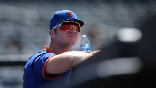 New York Mets first baseman Pete Alonso (20)