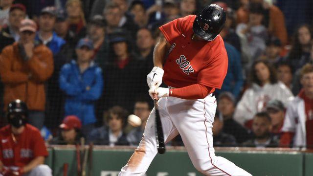 Boston Red Sox Infielder Rafael Devers