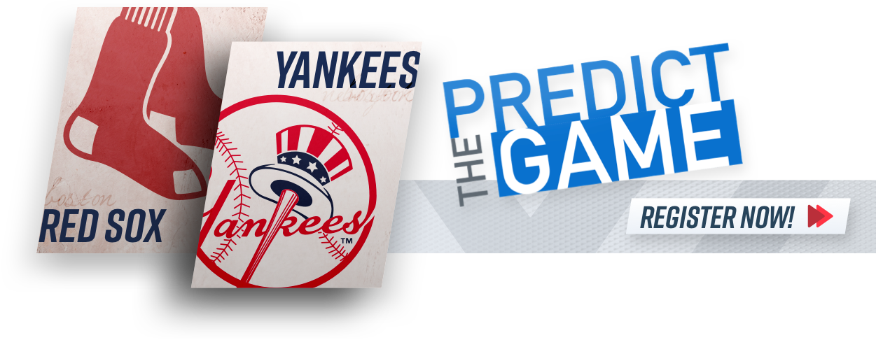 """Red Sox-Yankees """"Predict The Game"""""""