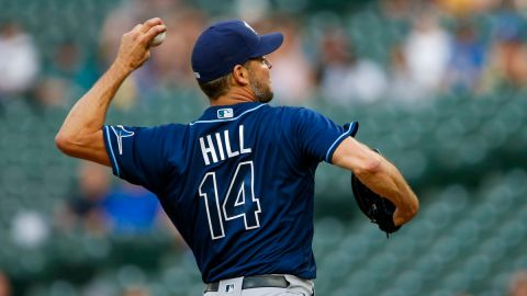 Tampa Bay Rays pitcher Rich Hill