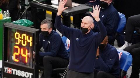 NBA head coach Rick Carlisle