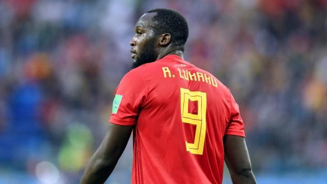 Belgium striker Romelu Lukaku