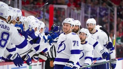 Tampa Bay Lightning Forward Ross Colton