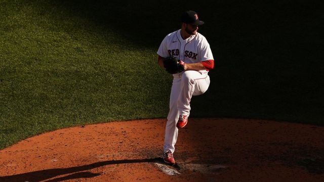Boston Red Sox pitcher Ryan Brasier