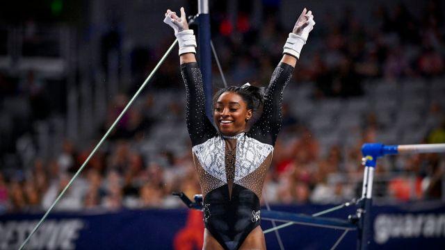 U.S. Olympian Simone Biles