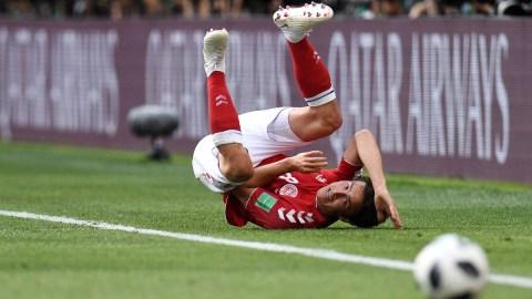 Denmark midfielder Thomas Delaney