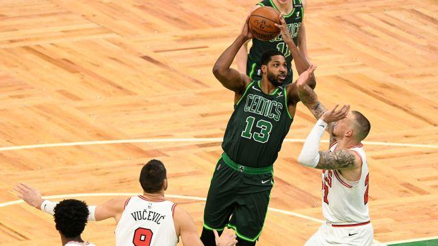 Boston Celtics' Tristan Thompson