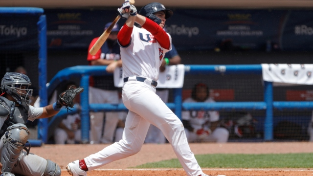 Boston Red Sox prospect and United States first baseman Triston Casas (26)