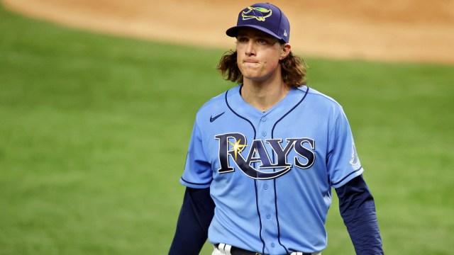 Tampa Bay Rays Pitcher Tyler Glasnow
