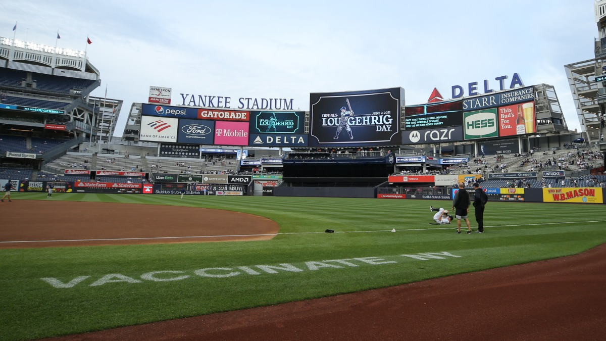 Red Sox, Yankees Battle For First Time In 2021 Season At Yankee Stadium