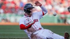 Boston Red Sox left fielder Alex Verdugo