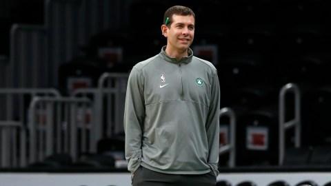 Boston Celtics president of basketball operations Brad Stevens