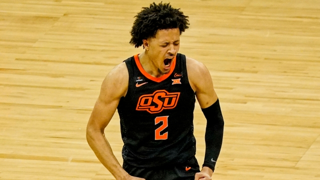 NBA Draft prospect and Oklahoma State product Cade Cunningham