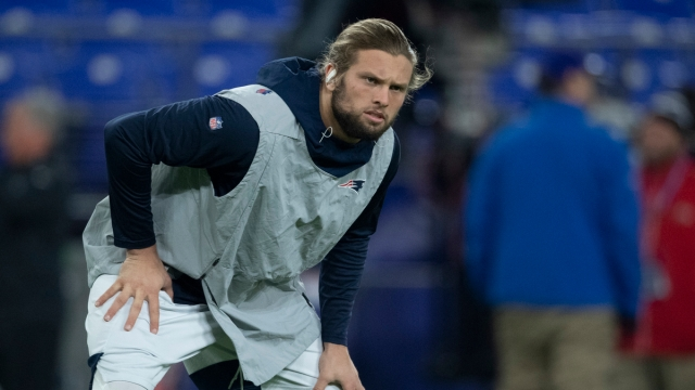 New England Patriots defensive end Chase Winovich
