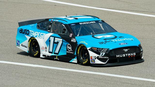 NASCAR driver Chris Buescher