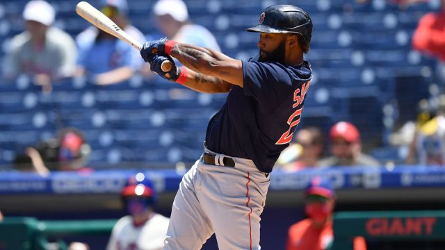 Boston Red Sox player Danny Santana