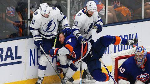New York Islanders and Tampa Bay Lightning