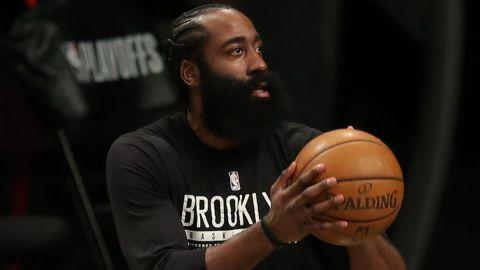 Brooklyn Nets guard James harden